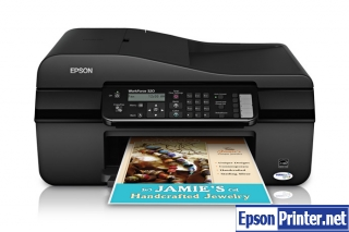 How to reset Epson WorkForce 320 printer