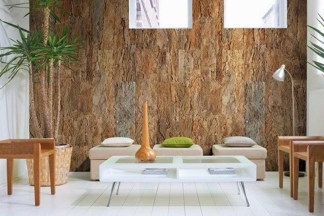 Paredes y suelos de corcho la c moda encantada for Placas de corcho para paredes