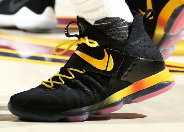 James Debuts 38th Nike LeBron 14 Colorway in ECF Game 3 Loss