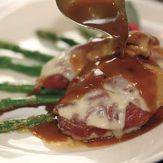 SALTIMBOCCA DI VITELLO (Veal Saltimbocca)