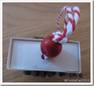 matchbox tree decoration