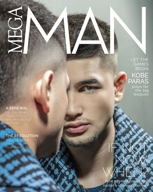 Kobe Paras - Mega Man January 2018