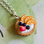 Creamy Fruit Tart with Strawberry, Oranges and Blueberries
