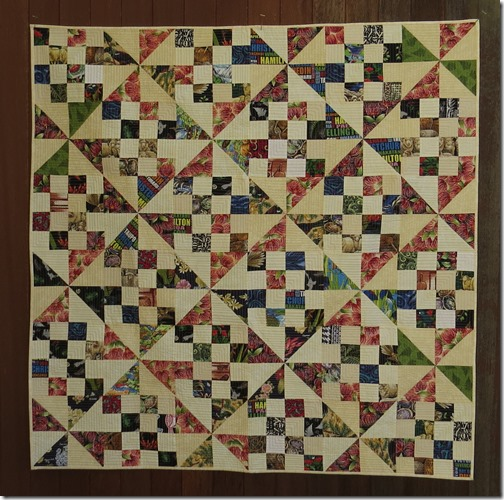 Peggy's Kiwiana quilt
