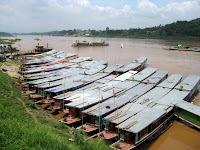 Long, slow boats to Luang Prabang