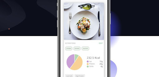 Track nutrition and ingredients in your food by just taking photos!