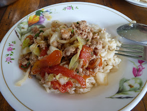 Photo: Ko Phangan - beef or pork w some vegetables and rice from Marek