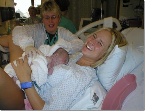 halle is born!