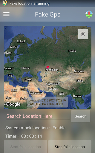 Fake Location (Mock GPS) 5.2.2 screenshots 4
