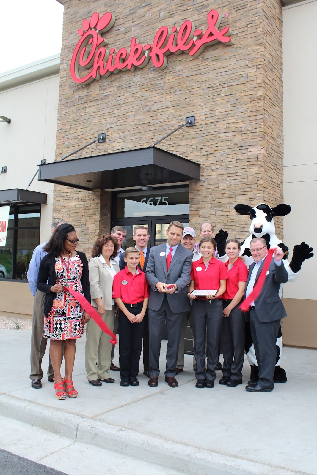 Congratulations to Chick-fil-A located at 6675 E. Grant Road, on their grand opening!