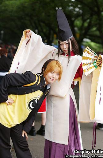 hikaru no go cosplay - shindo hikaru and fujiwara no sai
