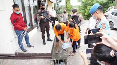 Jual Sabu, Pasutri di Sekadau Ditangkap Polisi