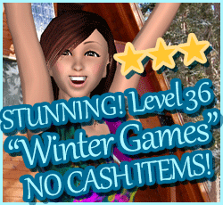 Style Me Girl Level 36 - Winter Games - Jessica - Stunning! Three Stars