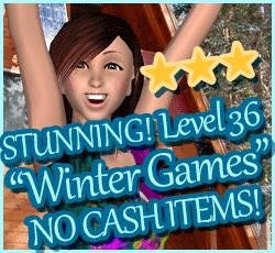 Style Me Girl Level 36 - Winter Games - Jessica - Stunning! Three Stars