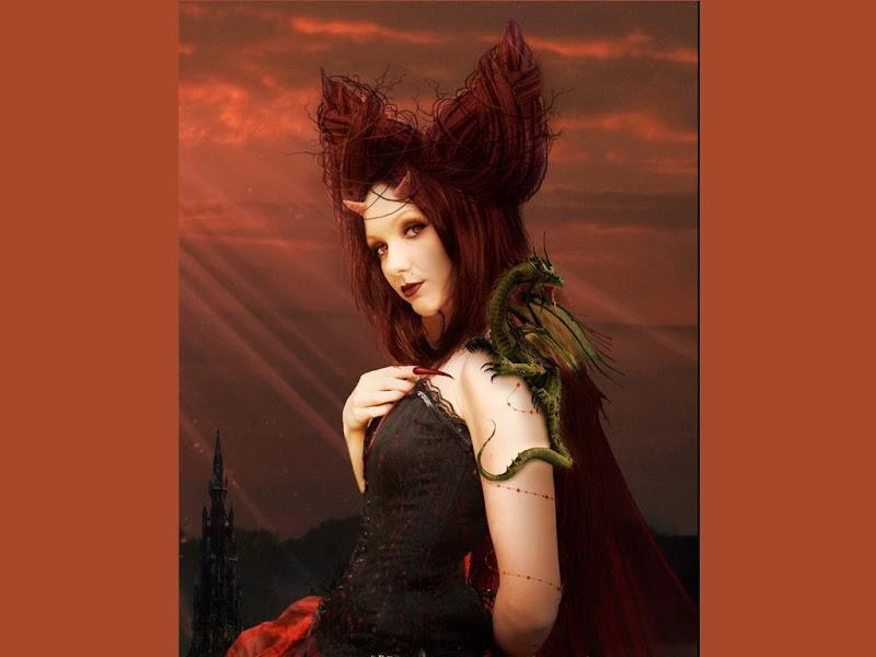 Red Dragon Demoness, Demonesses