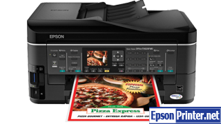 How to reset Epson TX620FWD by software