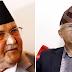 Oli-Nepal discussion in Baluwatar