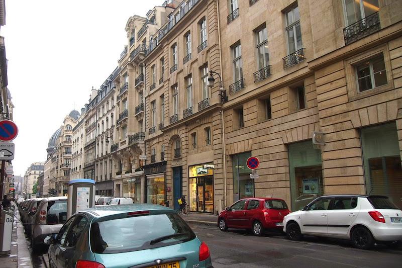 パリ町並み