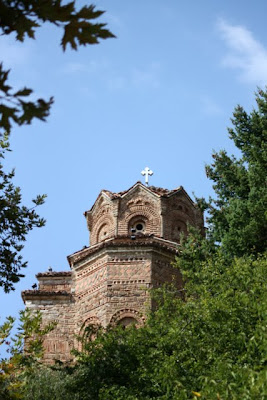 Church of Sveti Jovan at Kaneo in Ohrid Macedonia