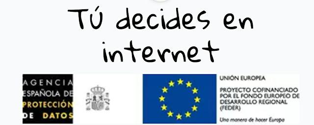Resultat d'imatges de tu decides en internet