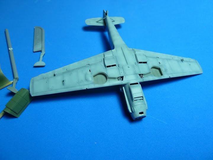 "Messerschmmit Bf 109 E-3 - Major Hans ""Assi"" Hahn P1040033"