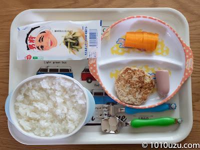 1歳11か月頃の昼食