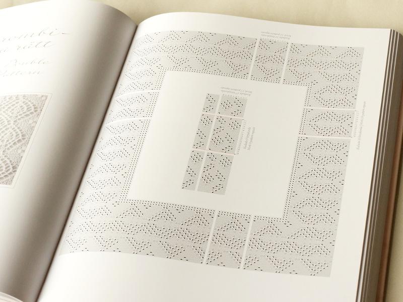 The Haapsalu Scarf book chart sample