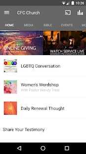 CFC Church- screenshot thumbnail