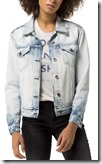 Tommy Hilfiger pale wash denim jacket