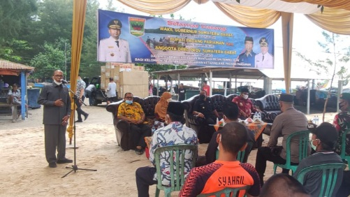 Mimpi Nelayan Pasie Katapianh Bermesin Tempel Akhirnya Terujud, 'Tarimo Kasih Pak Haji Nurnas'