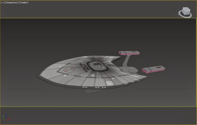 Star Trek Starship WIP - The Gnomon Workshop Forums