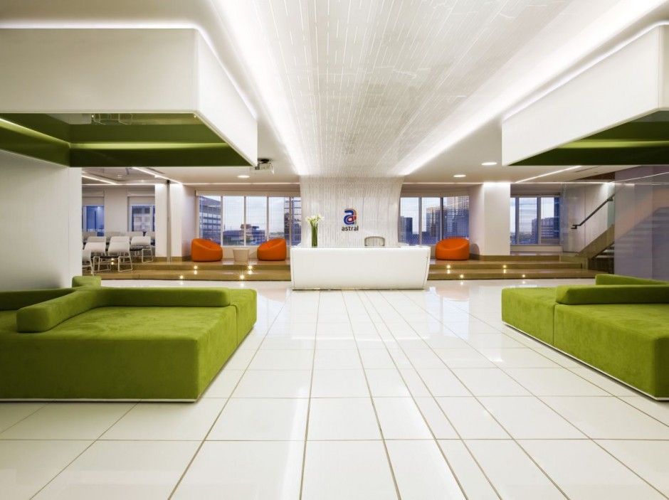 Astral Media Office Interior design by Lemay Associés