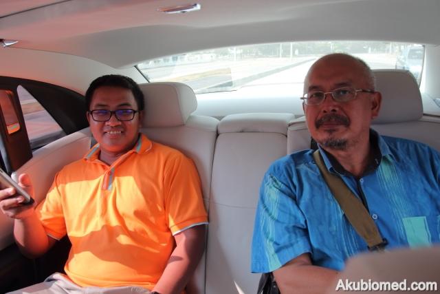 Azman Hassan dan abang Hassan Mat