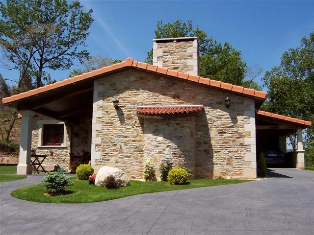 2 casas de piedra unifamiliares en construcci n for Piedra royal veta precio