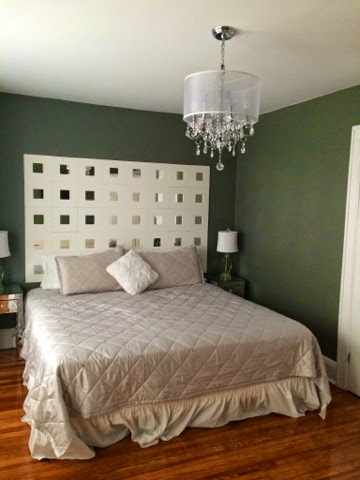 Ikea Malma Mirror Headboard | KATE LOVE STYLE