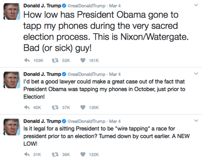 Another Trump tweet