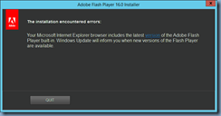 Terence Luk: Installing / Enabling Adobe Flash on Windows