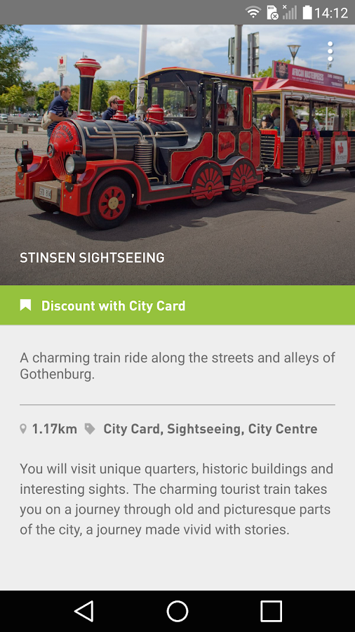 Gothenburg – Visitor Guide - screenshot