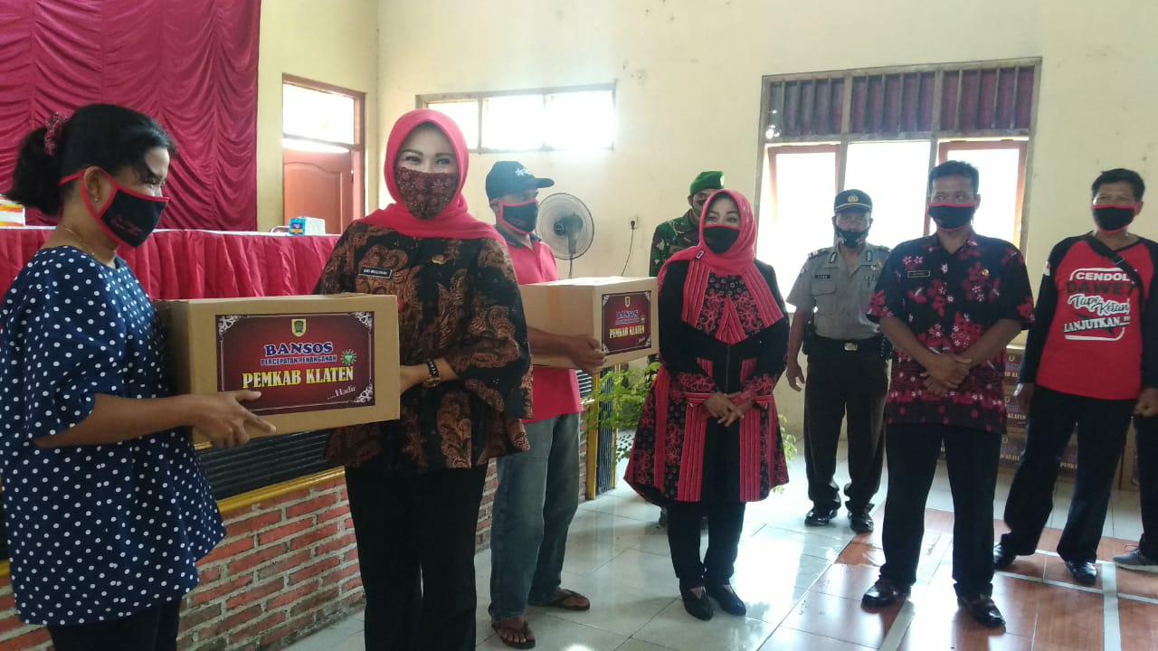 Bupati Perintahkan Camat Dan Kades Dalam Pengadaan Bantuan Sembako Membeli Produk lokal