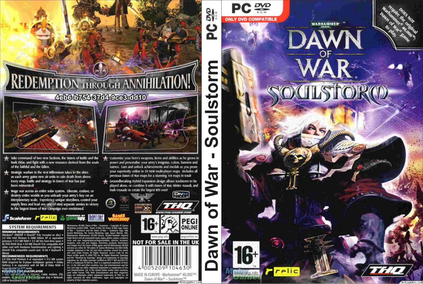 Warhammer 40 000: Dawn of War - Soulstorm (free version ...