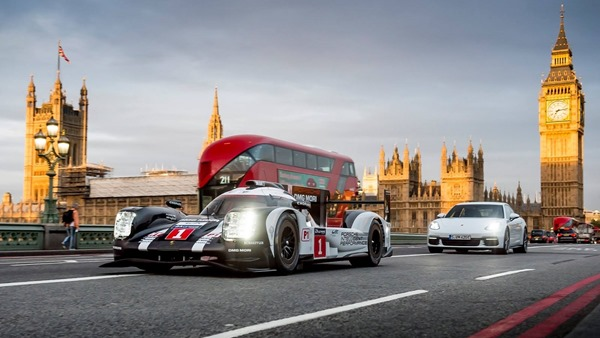 Porsche Hybrid London