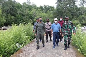 Dandim 0314 Inhil Kunker dan Silaturrahmi ke Wilayah Teritorial Koramil 04 /Kuindra, Concong