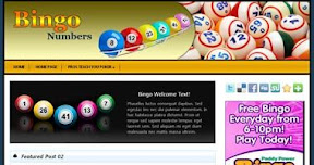 Bingo Wordpress Theme - wpg131