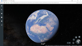 Take me to google earth