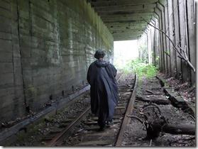 pont sur la voie abandonnée