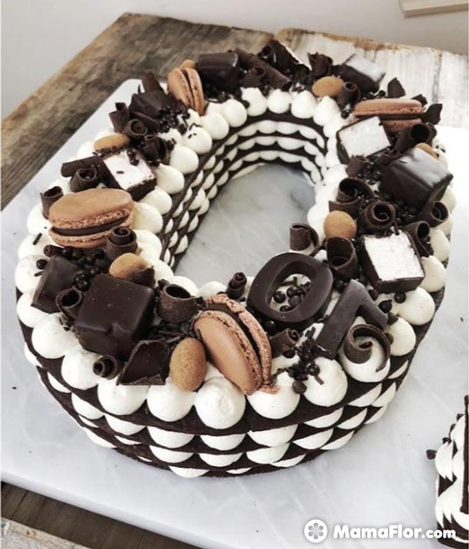 tortas con números 11