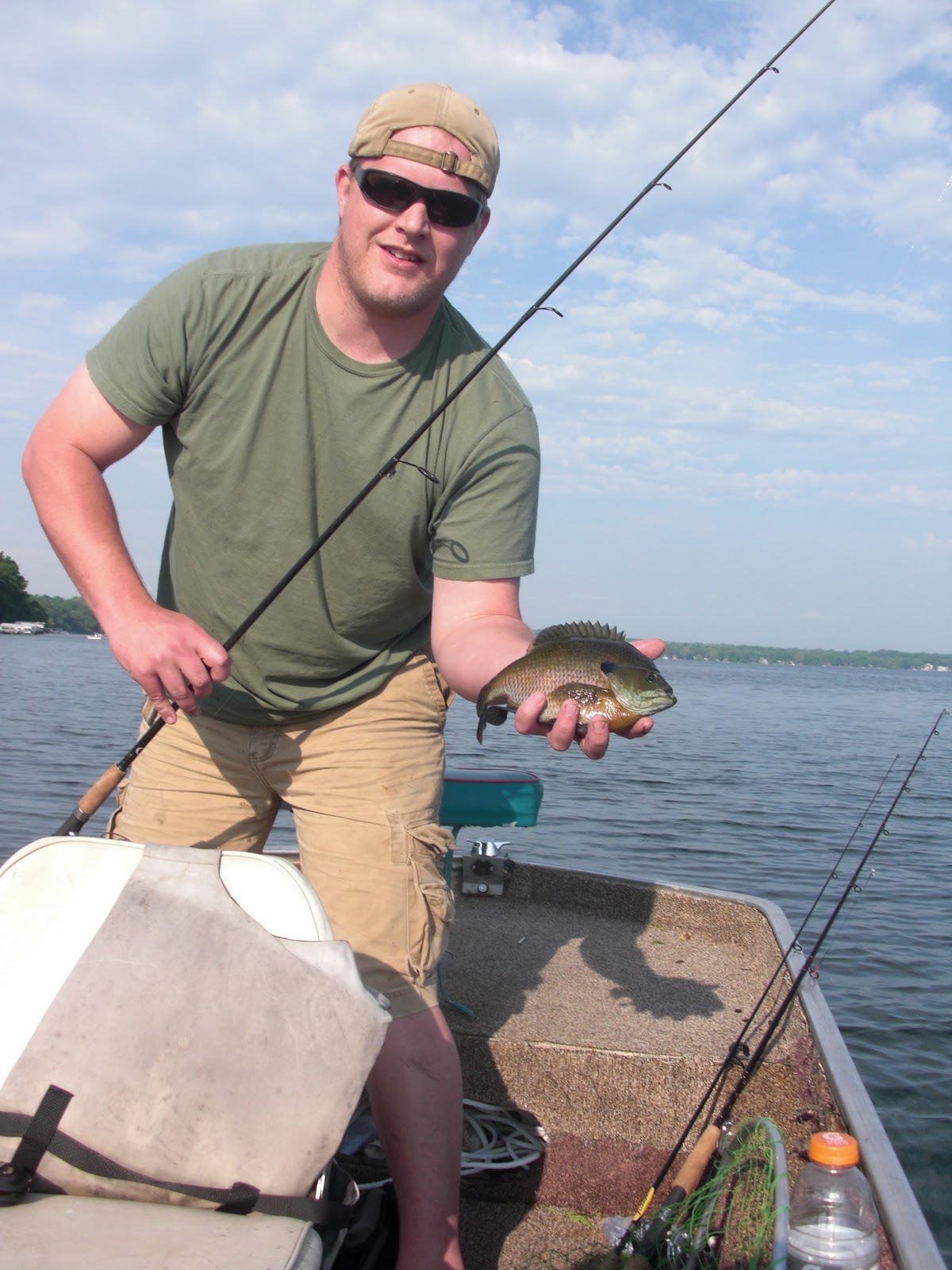 Montana of the midwest madison chain water levels for Lake mendota fishing report