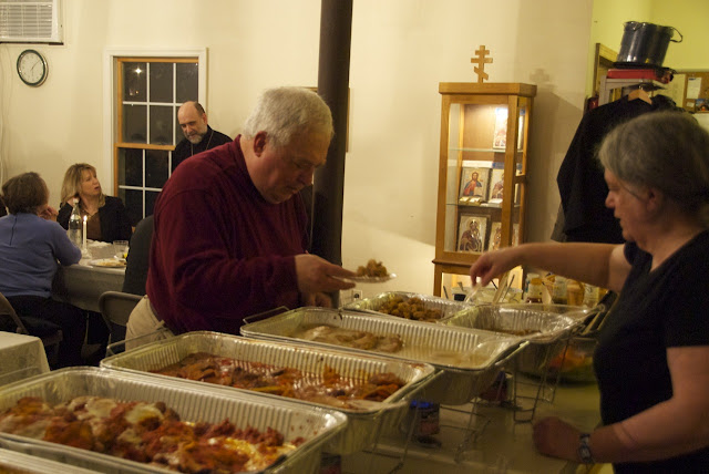 Guests enjoyed a bountiful meal!