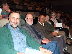 Photo: John Panaretos, Erich Lehmann, David Blackwell, Debbie Haaxman, Judey Miller, and James Blakly