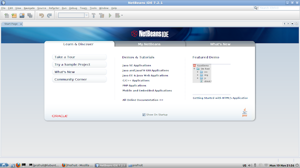NetBeans в Lubuntu 12.04_64